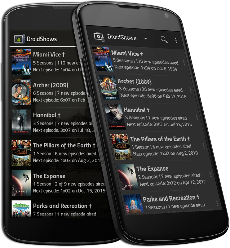 DroidShows Screenshot